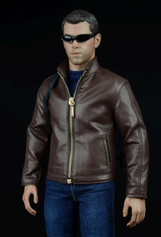 Agent Leather Suit Set