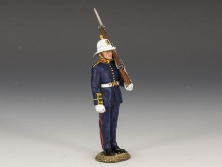 Royal Marine on Guard Duty 1935