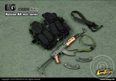 Russian AK-47 Set - Black