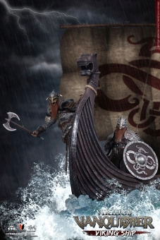 Viking Ship Diorama - Viking Vanquisher