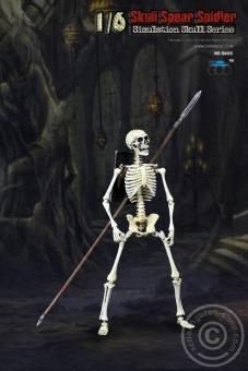 Skeleton Spear Soldier - Human Skeleton in 1:6