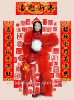 Chinese Female Cloth Set 2 - mit kurzem Top