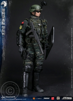 China People Armed Police Force - Snow Leopard Commando Leader