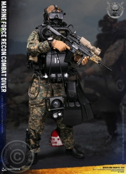 Marine Force Recon Combat Diver - Woodland