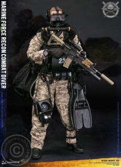 Marine Force Recon Combat Diver - Desert