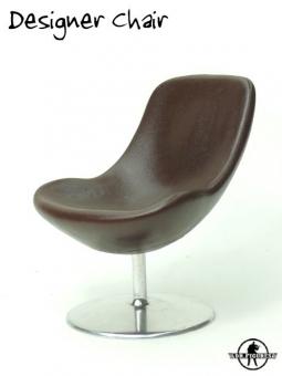 Designer Chair - dark-brown