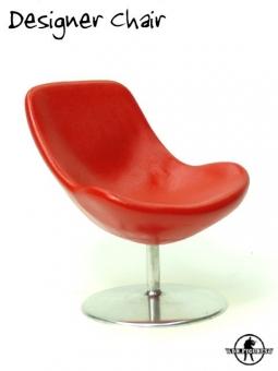 Designer Chair - rot