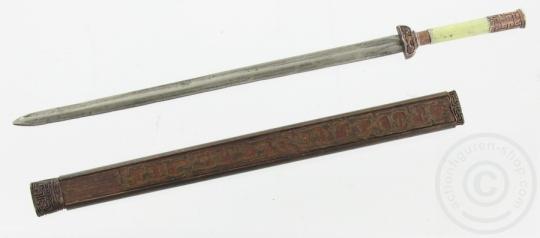 Schwert mit Scheide - antik