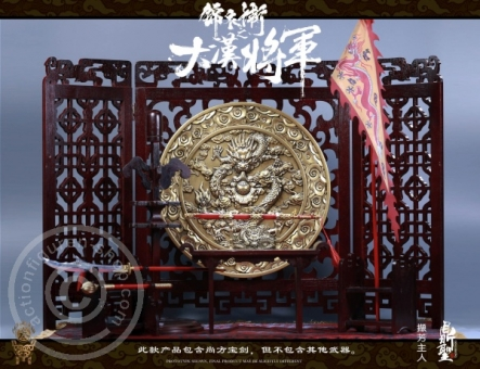 Imperial Guards of the Ming Dynasty - Wooden Dragon Diorama Set