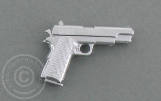 Pistole Colt M1911 - silver
