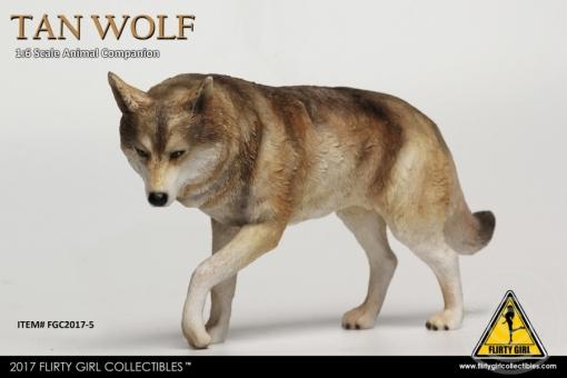 Wolf Companion - tan Wolf