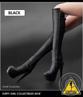 High Heel Boots - schwarz
