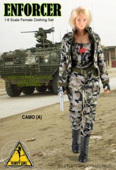 Enforcer - Female Camo Clothing Set