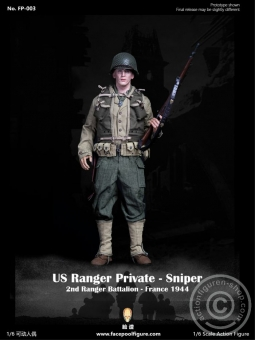 Sniper Private Jackson US Army Ranger - Special Edition w/ Diorama