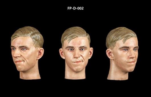 Kopf - männlich - weiß - skeptisch