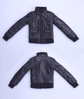Female Leather Jacket (Black)