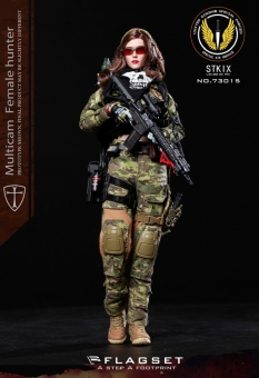 Angela - Multicam Female Hunter