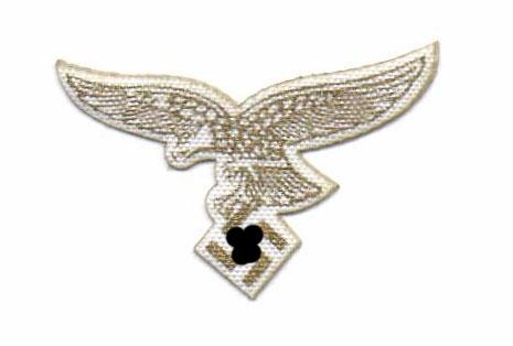 Luftwaffenadler in Gold