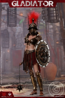 Female Gladiator (red) - Imperial Legion