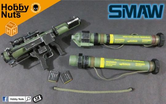 SMAW MK153 Raketenwerfer - OD