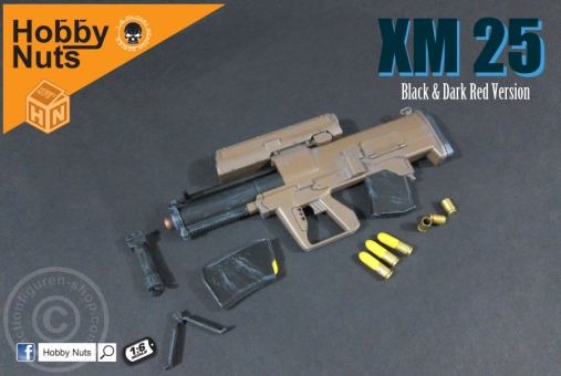 XM25 - Black-Dark-Red