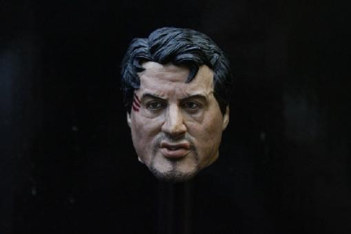 Sylvester Stallone - Head + Body