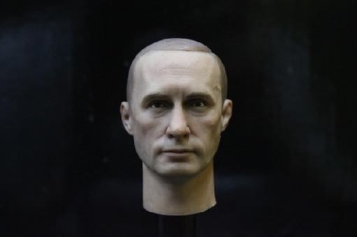 Wladimir Putin - Head + Body