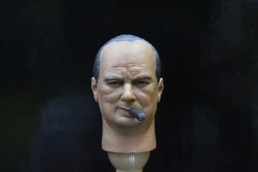Winston Churchill - Head + Body
