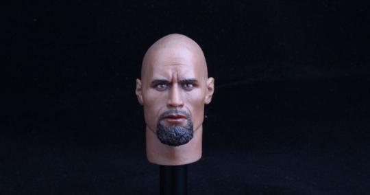 Dwayne Johnson The Rock - Head + Body
