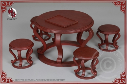 Qing Empire Series - Military Minister Desk & Chair Set