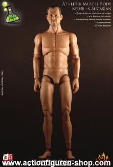 Athletik Muscle Body - Caucasian w/ Head