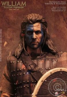 William: Sottish Highlander Head - B