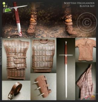 Highlander Outfit und Waffen Set