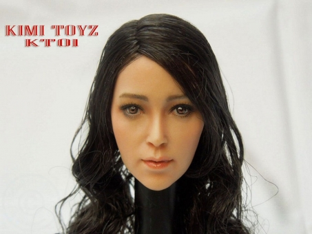 Asian Female Head