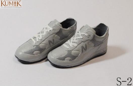 Sneaker N - grau/weiß