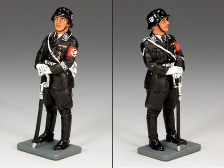 Standing-At-Ease SS Officer