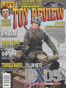 Lee´s TOY Review - Magazin - Issue 152 - 06.2005 - DX05 Special