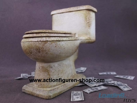 Toilet with Dollar