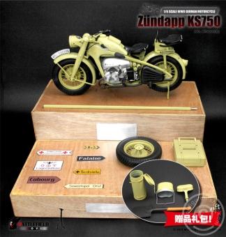 Zündapp KS750 Motorrad - sand