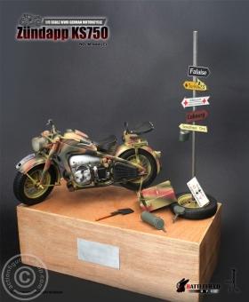 Zündapp KS750 Motorrad - camo