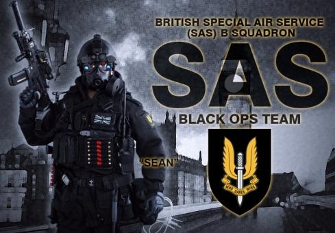 Sean - British Special Air Service (SAS)