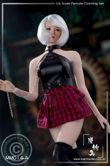 Punk Girl Costume Set - A