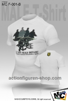 T-Shirt - US Navy DEVGRU - white