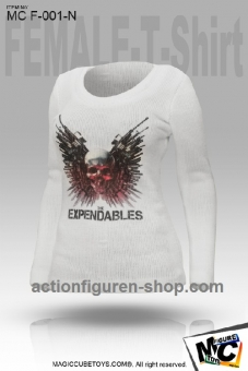 T-Shirt (female) - Expendables - white