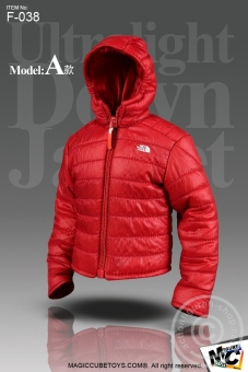 Ultralight Down Jacket Set - Red