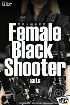 Female Black Shooter Set