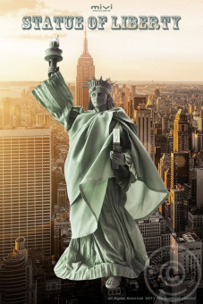 Statue of Liberty - Head and Outfit Set