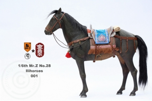 Ili Pferd - dunkel-braun