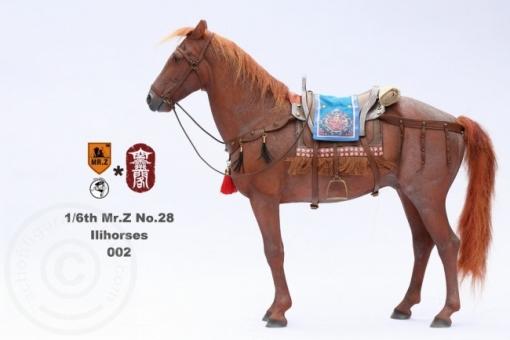 Ili Pferd - rot-braun