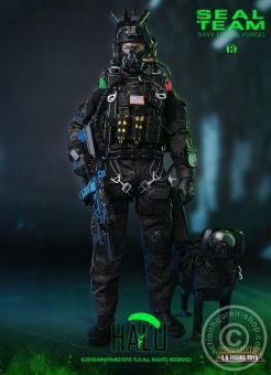 SEAL Team - HALO - w/Dog - Navy Special Forces